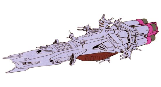 ナッシュビル 暗礁宙域捜索のためにアルビオン隊に派遣された艦。シーマ艦隊との交戦で撃...  ガ